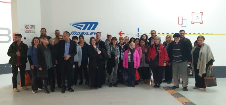 CJCUC Bible Study Home Fellowship Group Visits Mobileye Headquarters